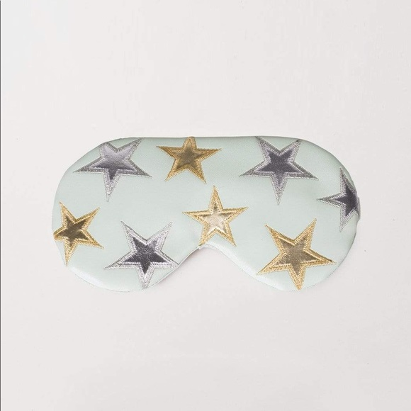Free People Other - Free People starry eyed understated leather mask
